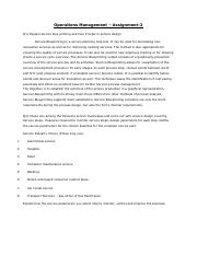 Operations Management- Assignment-2.pdf
