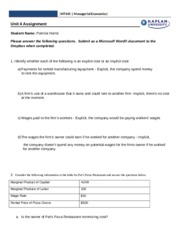 mt 445 02 managerial economics Ms-9 managerial economics previous exam paper mba - master of business administration note: attempt any five questions all questions carry equal marks.