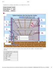 FFP1540 - Private Fire Protection Sys I - QUIZ04 CH5
