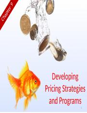Chapter 9 (Developing Pricing Strategies & Programs).pptx