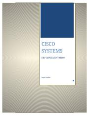 Cisco Systems ERP Implementationfinal FINAL COPY.docx