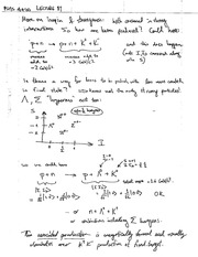 Handwritten Lecture Notes 11