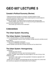 GEO 607 - Lecture 5
