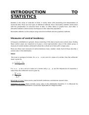Introduction to statisticstudymaterial.docx
