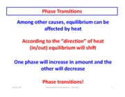 Phase Transitions part 1