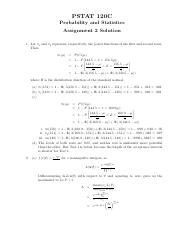 PSTAT 120C Assignment 2 Solution.pdf