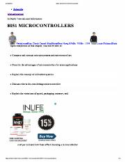 8051 MICROCONTROLLERS-1