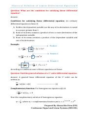 2. Classical solutions of linear differential equations(Complete).pdf