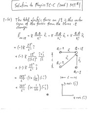 2006 Winter Midterm 1 Solutions