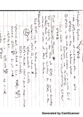 Laplace's Equation with Notes