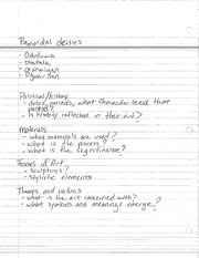 PREMORDIAL DEITIES AND HISTORY NOTES