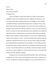 Birthday essay edited