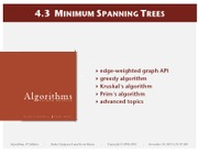 43MinimumSpanningTrees