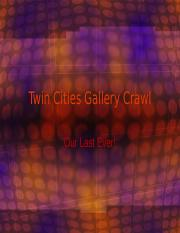 Final Gallery Crawl MM