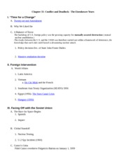 Chapter 33- Outline Germanna 2008