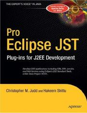 Pro-Eclipse JST, Plug-ins for J2EE Development.pdf