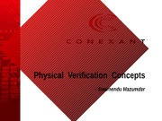 Physical Verification Concepts