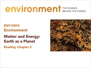 Lec 4 Sept 16 Earth as a System (I) for posting