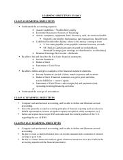Learning Objectives Exam 2.docx