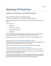 Marketing 210 FINAL notes - snk13