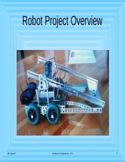 11-Robot-Project-Overview