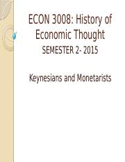 5. ECON_3008-Keynesian_and_Monetarists_S2-2015.pptx