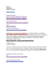 SPMC 150 : Intro to Sports Media - University of Nebraska,