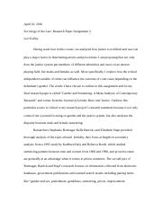 Research Paper Assignment 2