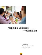 Making a Business Presentation.docx