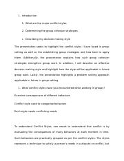 6 pages creative decison