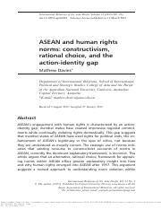 ASEAN and human rights norms_constructivism, rational choice and action-identity gap.pdf