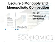 Lecture _5_ Monopoly_ and_ Monopolistic_Competition
