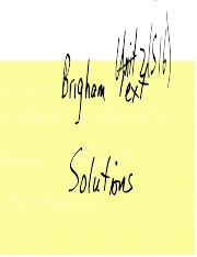 Acct 352-Unit 2-Brigham 1994 text Solutions (Summer 2016).doc