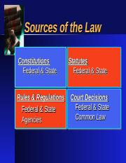 Legal Environment - Court System.ppt