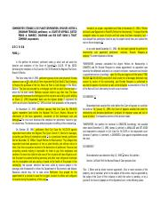 My Case Digest (Commodities Case and Adoma Case - Receivership and Replevin).docx