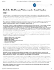 The Color Blind Society_ Whiteness as the Default Standard _ TC Media Center.pdf