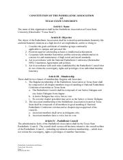 Constitution and Bylaws - revised Fall 2015 (1)