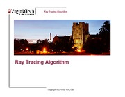 Lecture4_RayTracing_Algorithm