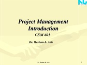 Intoduction to Project management