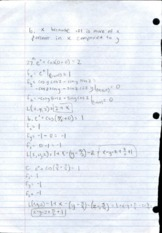 Multivariable Calculus 11.9 Homework Solutions