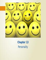 Chapter 13 Personality Student Version [Autosaved].pptx