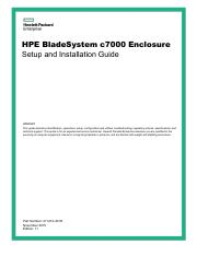 HPE Agentless Management pdf - HPE Agentless Management and