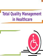 totalqualitymanagement-healthcare 1.ppt