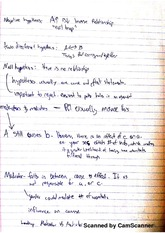 Hypothesis Notes