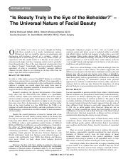 Beauty Reference Article 1