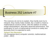 Business 252 7 More Linear Regression