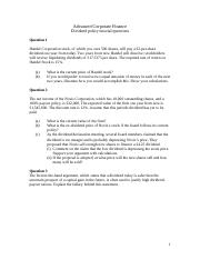 Tutorial Questions Dividend policy 2015.doc