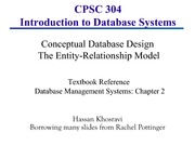 Chapter2-databasedesign