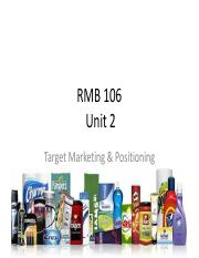 unit 2 Targeting and positioning.pdf