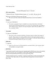Annotated Bibliography Template ENG 110 (1)